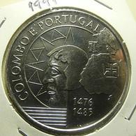 Portugal 200 Escudos 1991 Colombo E Portugal - Portogallo