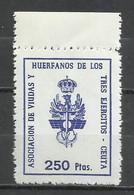 2505I-SELLOS FISCAL NUEVO MNH** HUERFANOS Y VIUDAS 3 EJERCITOS,LOCAL CEUTA,PROVINCIA DE ESPAÑA NORTE DE AFRICA.ESCASO.SP - Fiscales