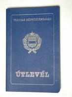 +++ Hungary - Passport Passeport 1991 Blue Sk Db01 Missing Photo - Historische Dokumente