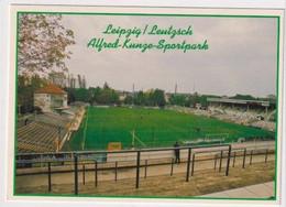 FOOTBALL - AK 384752 Stadium / Stadion - Leipzig - FC Sachsen Leipzig - Alfred-Kunze-Sportpark - Soccer