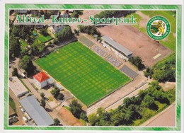 FOOTBALL - AK 384753 Stadium / Stadion - Leipzig - FC Sachsen Leipzig - Alfred-Kunze-Sportpark - Soccer