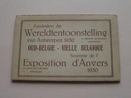 Souvenir De EXPOSITION > WERELDTENTOONSTELLING 1930 ( P.I.B - M. Potié ) Carnet 10 Kaarten ( Zie / Voir Photos ) ! - Antwerpen