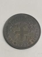 1 Franc Cameroun Français 1943. - Colonie