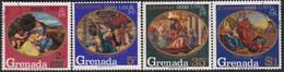 GRENADA 1969 SG 363-66 Compl.set Used Christmas - Grenada (...-1974)
