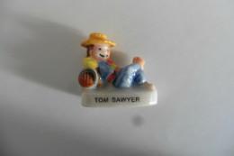 Fève Brillante En Porcelaine Contes Et Récits De Notre Enfance - Tom Sawyer - USA - History