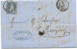 169 - 60  - Enveloppe Envoyée De Bern 1864 - Unclassified