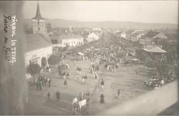 Roemenië Romania - Targul In Teivs - Photocard Fotokaart - 1920 - Romania