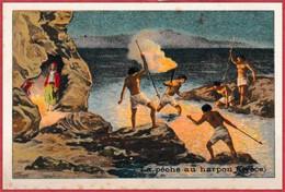 La Pêche Au Harpon En Grèce. Série Pêche. - Kaufmanns- Und Zigarettenbilder