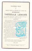 DP Gesneuveld Tombé Oorlog Guerre 40-45 Théodule Lemaire / Godfroid ° Sclassin Haut-Fays / Daverdisse 1916† Riemst 1940 - Andachtsbilder