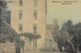 Theoule Chapelle Et Sanatorium Carte En Très Bon état - Other Municipalities