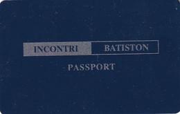 GREECE - Incontri Batiston, Passport Card, Used - Unclassified