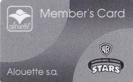 GREECE - Aluette, Member Card, Used - Unclassified