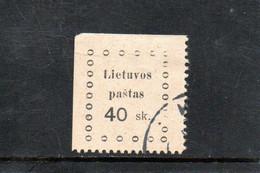 LITUANIE 1919 O AMINCI - Lithuania