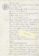 1861 / Contrat Travail / Embauche Apprenti / Chez Froely, Fabricant De Limes / Besançon / 25 Doubs - Frankreich