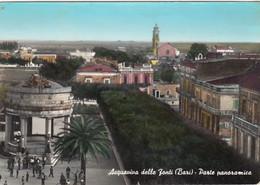 ACQUAVIVA DELLE FONTI-BARI-PARTE PANORAMICA-CARTOLINA VERA FOTOGRAFIA- VIAGGIATA IL 29-5-1963 - Bari