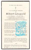 DP Gesneuveld Tombé Oorlog Guerre 40-45 Albert Léopold / Martin ° Bertogne 1909 † Tielt Mei 1940 / Oudenaarde - Andachtsbilder