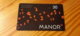 Manor Gift Card Switzerland - Gift Cards