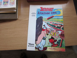 Asterix Zlatni Srp - Books, Magazines, Comics