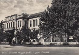 BRESCELLO-REGGIO EMILIA-SCUOLE COMUNALI-CARTOLINA VERA FOTOGRAFIA- VIAGGIATA IL 6-8-1954 - Reggio Nell'Emilia