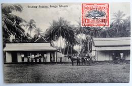 C. P. A. : TONGA : Trading Station, Tonga Islands, Stamp 1930 - Tonga