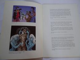 Catalogue D'exposition,Michèle Van Cotthem, Peintre 1990 ESPACE BAUDELAIRE RILLIEUX-LA-PAPE Avec Autographe - Altre Collezioni