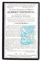 DP Gesneuveld Oorlog 14-18 Albert De Prince / Colpaert ° Gent 1890 † Ad IJzer / Adinkerke 1917 X A Willems / St-Laureins - Andachtsbilder