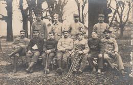 Sainte Foy Les Lyon - Hopital Bénévole - Pères Maristes - Carte Photo 1917 - Militaria - France
