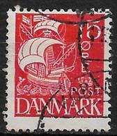 Denmark 1927. Scott #192 (U) Caravel - Usati