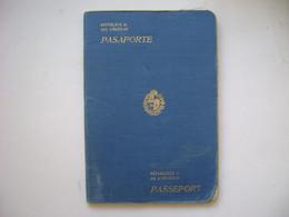 URUGUAY - PASSPORT ISSUED IN 1926 IN THE STATE - Historische Dokumente