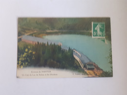 CPA Nantua 01 Ain, Environs De Nantua, Un Coin Du Lac De Sylans Et Les Glacières, 1913 - Nantua