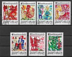 UNGHERIA 1979 ANNO INTERNAZIONALE DEL FANCIULLO N°2  YVERT. 2696-2702 USATA VF - Used Stamps