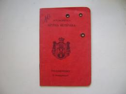 SERVIA / CROATIA AND SLOVENIA - RARE IMMIGRATION PASSPORT ISSUED IN 1925 IN THE STATE - Historische Dokumente