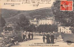 SAINT CIRGUES EN MONTAGNE - La Place Du Breuil Et La Route De Montpezat - Très Bon état - Other Municipalities