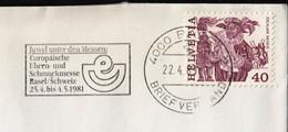 Switzerland Basel 1981 / Europaische Uhren Und Schmuckmesse, Watch, Jewelry / Exposition, Fair / Machine Stamp - Wereldtentoonstellingen