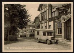 Sanatorium Provincial De Magnée Fléron - Entrée Principale Et Dispensaire Ambulant De La Province De Liège - 2 Scans - Fléron