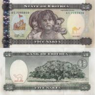 ERITREA, 5 NAKFA, 1997, P2, UNC - Eritrea