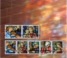 GREAT BRITAIN 2009 Christmas: Stained Glass Windows M/S - Blocchi & Foglietti