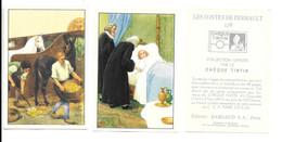 BM09 - 2 IMAGES CHEQUE TINTIN - LES CONTES DE PERRAULT - Kaufmanns- Und Zigarettenbilder