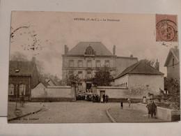 Carte Postale Ancienne -  AUCHEL -Le Pensionnat - Altri Comuni