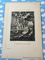 Les Fables De La Fontaine Par Oudry Les Nouvelles Galerie Le Renard Et Les Raisins - Sonstige