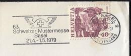 Switzerland Basel 1979 / 63. Schweizer Mustermesse / Exposition, Fair / Machine Stamp - Wereldtentoonstellingen