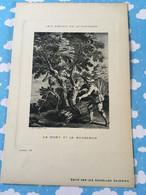 Les Fables De La Fontaine Par Oudry Les Nouvelles Galerie La Mort Et Le Bucheron - Sonstige