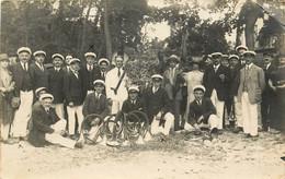 CARTE PHOTO LUXEUIL LES BAINS SOCIETE DE TROMPES CONCOURS DE PARIS 22 JUILLET 1926 - Luxeuil Les Bains