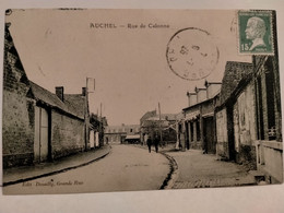 Carte Postale Ancienne -  AUCHEL - Rue De Calonne - Altri Comuni