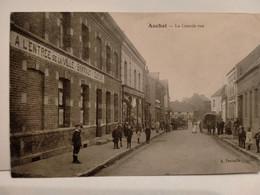 Carte Postale Ancienne -  AUCHEL - La Grande Rue - Altri Comuni
