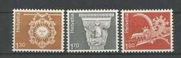 Switzerland 1973 Definitives Architecture Y.T. 918/920 ** - Svizzera