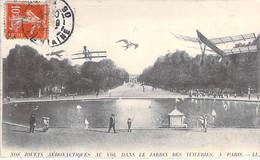 75 - PARIS 1 Er - JARDIN Des TUILERIES : Nos Jouets Aéronautiques Au  Vol ... - CPA - Seine - Parques, Jardines