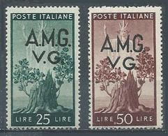 Italie Occupation Vénétie Julienne YT N°19-20 Neuf ** - 7. Triest