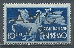 Italie Occupation Vénétie Julienne Lettres Express YT N°1 Neuf ** - 7. Triest