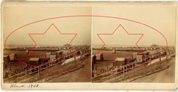 Stereokaart Blankenberge - Blankenberghe 1898 - Stereoscoopen